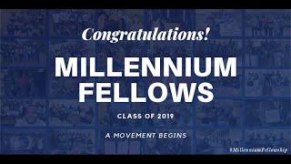 Millennium Fellowship Graduation - Class of 2019