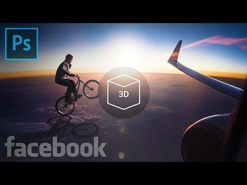 Create Facebook 3D Photos in Photoshop! thumbnail
