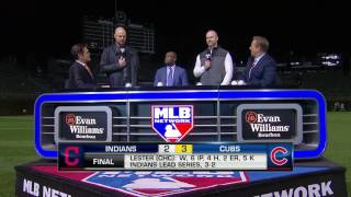 Jon Lester and David Ross on MLB Tonight
