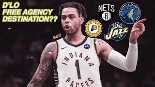 WHERE IS D'ANGELO RUSSELL GOING IN FREE AGENCY?? PACERS?? JAZZ?? PAIRING WITH KYRIE??