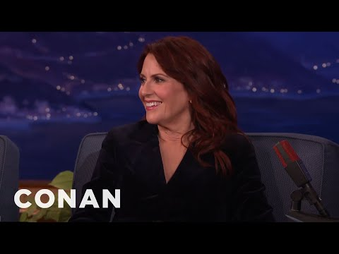Megan Mullally And Nick Offerman's Digital Detox  - CONAN on TBS