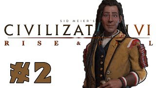 Civilization VI: Rise and Fall! -- Poundmaker of the Cree! -- Part 2 2017 Video