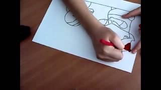 Рисую Кик Бутовский!(, 2012-10-13T09:43:52.000Z)