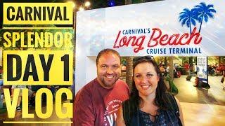 Carnival Splendor Cruise Vlog Day 1 Embarkation - Mexican Riviera