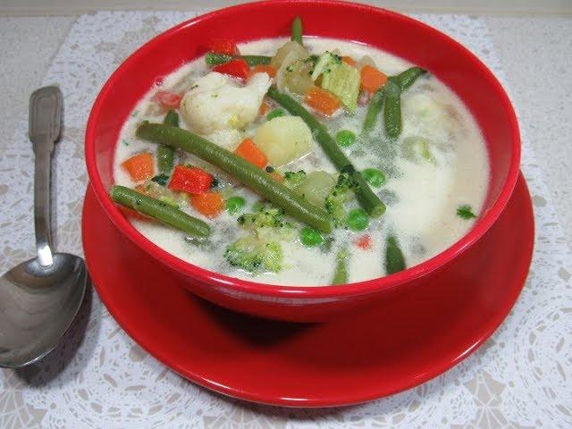 supa legume pentru slabit)