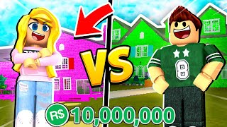 SPENDING ALL MY ROBUX ON A MANSION - BOYFRIEND VS GIRLFRIEND! (Roblox)