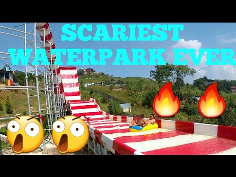 SCARIEST WATER PARK EVER | WHOOPEE LAND| CHOVAR | NEPAL