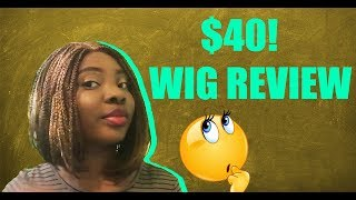 Wig Review : Braided Bob | Cut down a Few Hours of your Hair Braiding Time