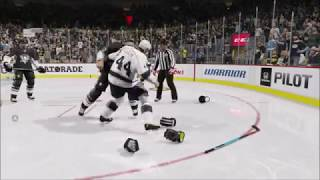 NHL 15 Insane Hits And Awesome Zdeno Chara Fight