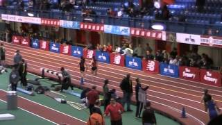 2014 NJ Bergen County Relays Armory Girls 4x400  Northern Highlands