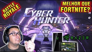 CYBER HUNTER, the new Battle Royale Mobile. Better than Free Fire, PUBG and Fortnite?