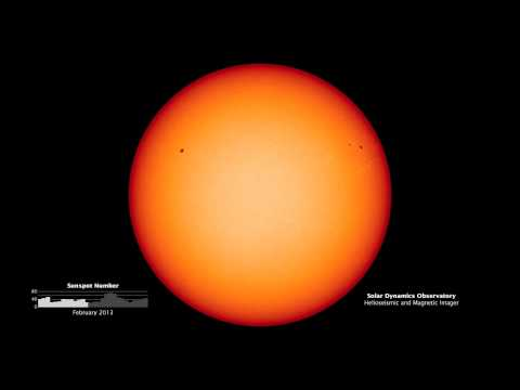 Solar Max Sunspots from the Solar Dynamics Observatory