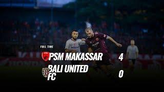 Download Video [Pekan 32] Cuplikan Pertandingan PSM Makassar vs Bali United FC, 25 November 2018 MP3 3GP MP4