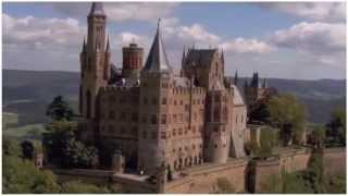 Германия. Замок Гогенцоллерн. Туризм, отдых и путешествия(Замок Гогенцоллерн (нем. Burg Hohenzollern) — старинный замок-крепость в Баден-Вюртемберге в 50 км южнее Штутгарта...., 2015-07-07T17:52:41.000Z)