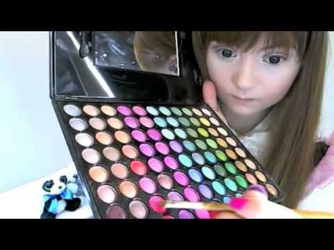 a62f5c292 البنت الدميه ومكياج باربي اليابانيه - YouTube
