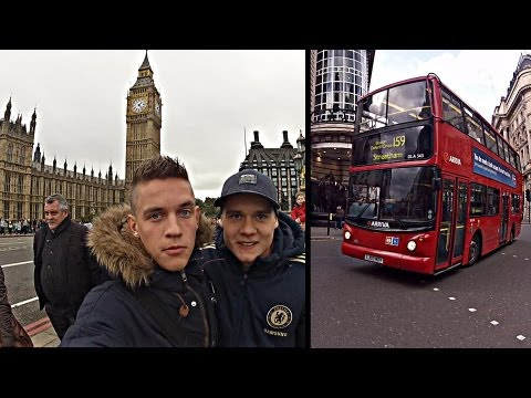 Joltter in London - Holiday Video [Chelsea vs Manchester United + more]