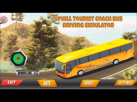 Uphill Tourist Transport Coach Bus Driving