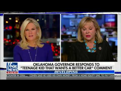 MARY FALLIN ONE-ON-ONE INTERVIEW WITH MARTHA MACCALLUM (4/5/2018)