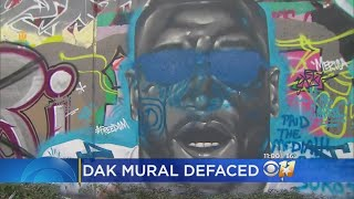 Mural Defacing Comes After Dak's National Anthem Protest Comments