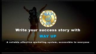 #WAY UP   The best marketibg of 2018! Presentation