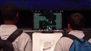 New Super Mario Brothers Wii: Larry Koopa Battle @ 5:40