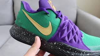 Nike ID Kyrie Low: Sneaker Review - YouTube