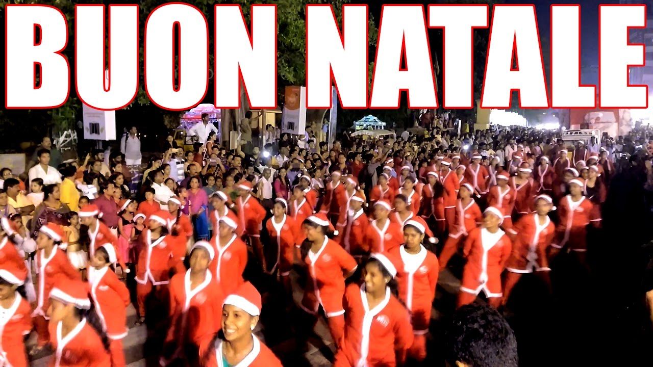 Buon Natale Thrissur.Buon Natale Merry Christmas Largest Christmas Carol Thrissur 2016