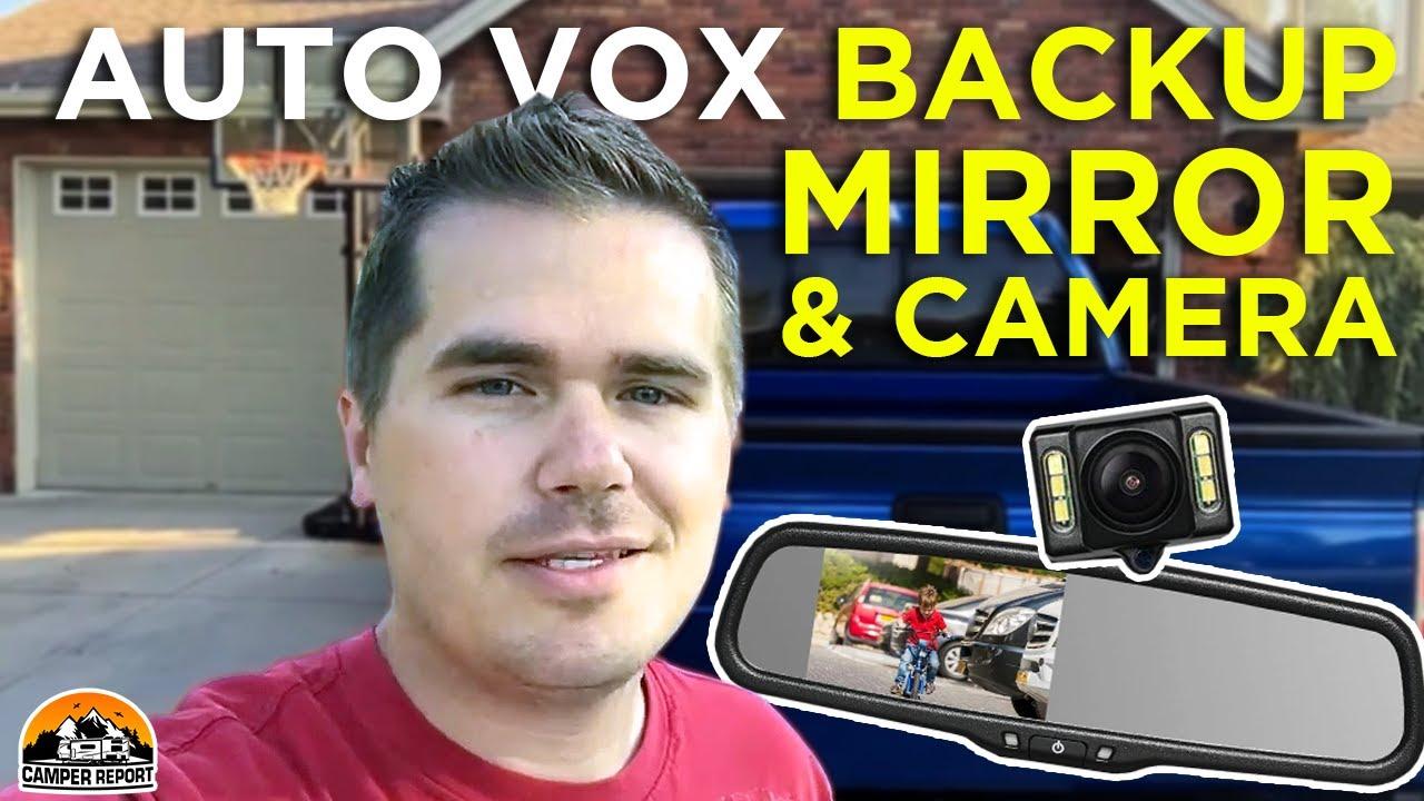medium resolution of auto vox backup camera review