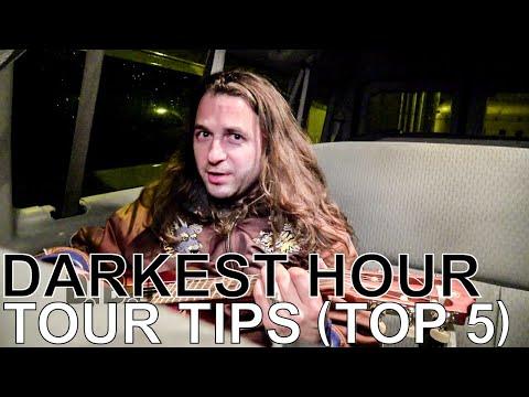 Darkest Hour's Mike Schleibaum - TOUR TIPS (Top 5) Ep. 748