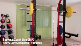 Bodymax CF870 Heavy Duty Commercial Half Rack
