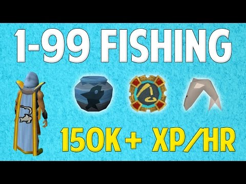 Runescape 2016 | 1-99 Fishing Guide