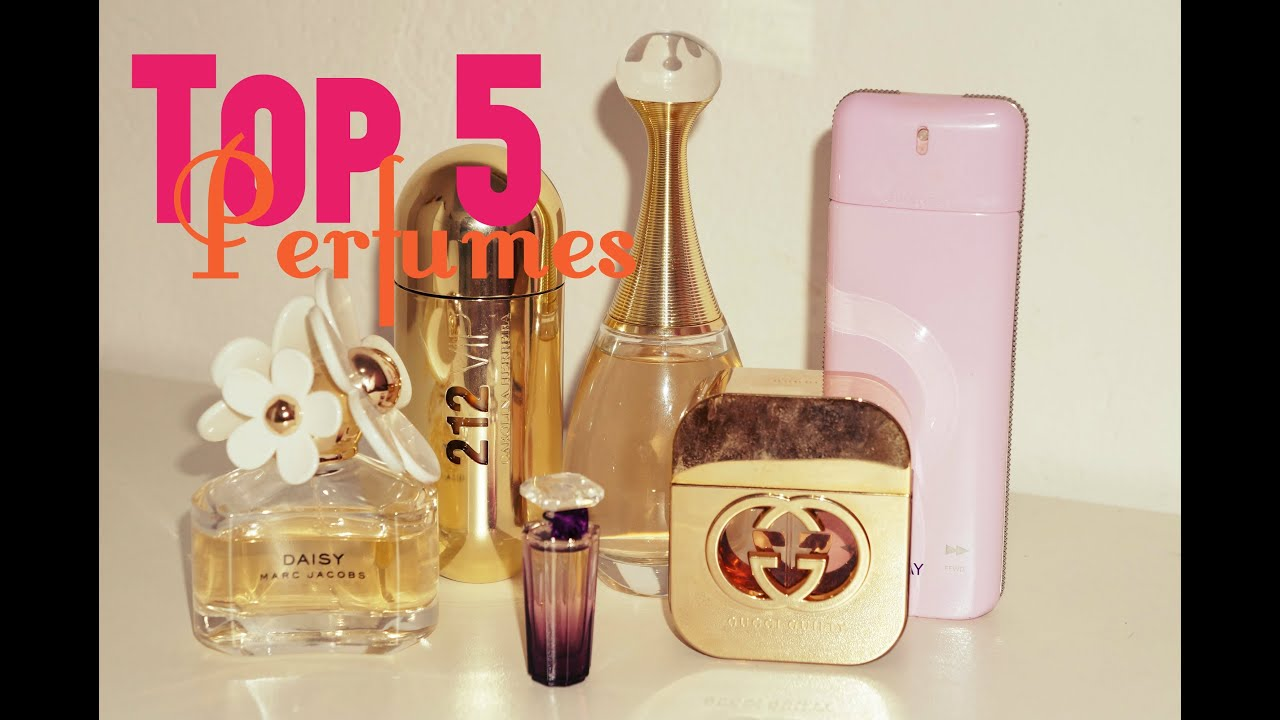8825faa1d Top 5 Perfumes Favoritos: Dior-Carolina Herrera-Gucci-Givenchy-Lâncome-Marc  Jacobs