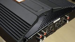 JBL GT5-A604 640w 4-channel car amplifier first look + start up