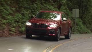 New BMW X4 M40d - Driving Scenes