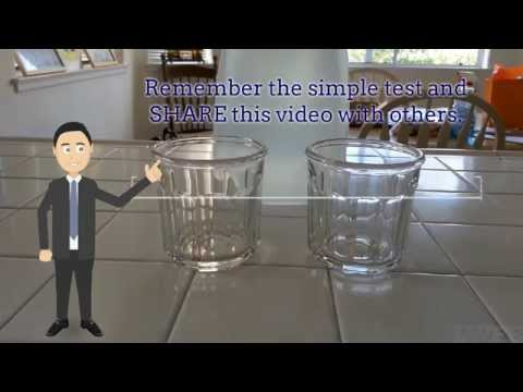 DIY Pure Water vs Tap Water Fun Test for Families and Students