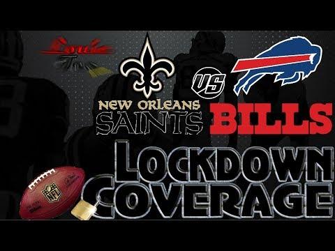 Lockdown Coverage | New Orleans Saints vs. Buffalo Bills  WK 10 Analysis | #LouieTeeLive