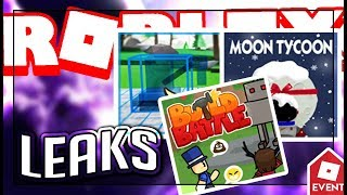 [LEAK] ROBLOX INNOVATION EVENT GAMES   Leaks and Predictions
