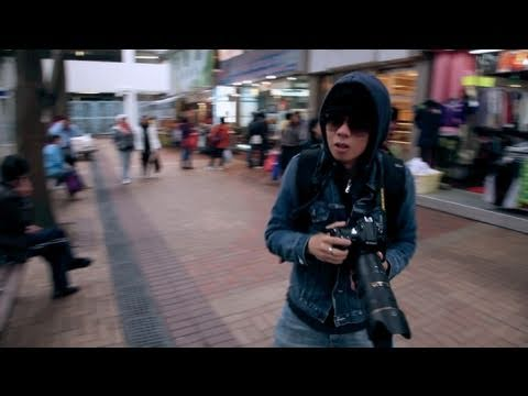 "Guide on how to ""be a Paparazzi"" (feat. L Gaga* & Nikon D3s)"