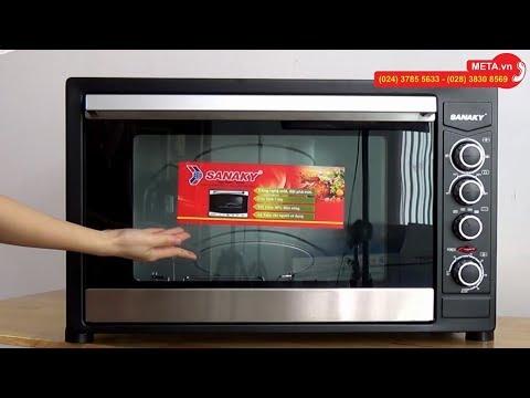 Lò Nướng Sanaky VH 909N Dung Tích 90 Lít, Nướng Thực Phẩm, Nướng Bánh Cực Ngon