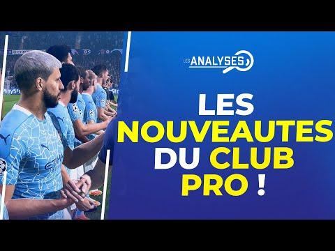 FIFA 22 : Les nouveautés du Club Pro !