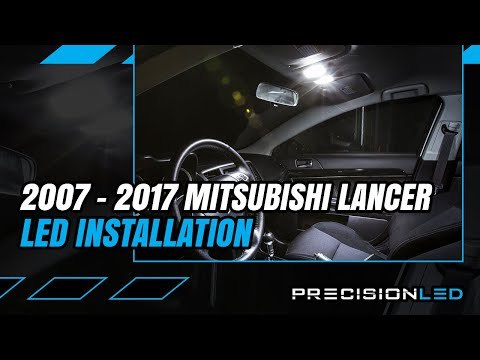 Mitsubishi Lancer LED Interior How To Install – 2007+
