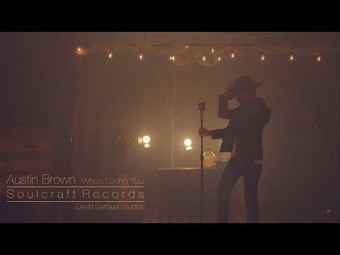 Austin Brown / covering / Who's Loving You / in our studio