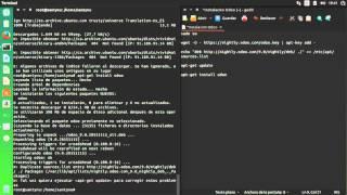 Instalación odoo 9 en ubuntu 14.04