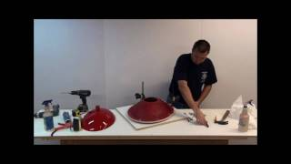 Mounting Concrete Countertop Vessel Sink Mold