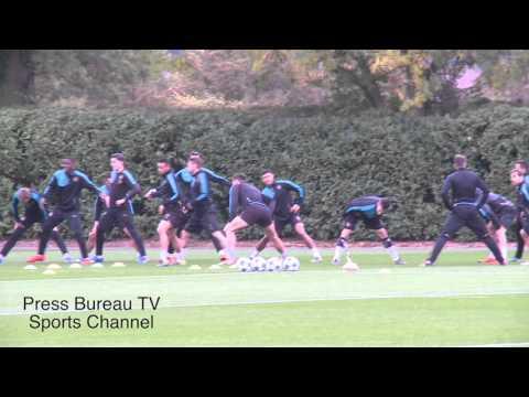 Arsenal Training Session Pre Bayern Munich