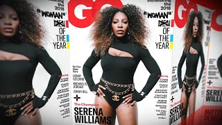 Serena Williams' GQ Cover Criticized for Quote Marks Around 'Woman' Video