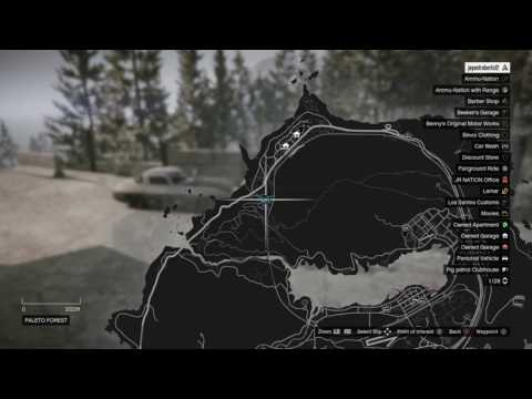 Gta 5 vehicle cargo paleto forest location