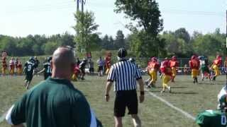first play of the 2012 football season tommy wazz jr