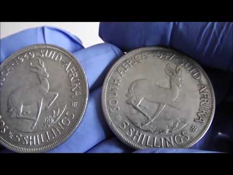 Fake Silver. The South African Springbok Crown (5 Shillings)