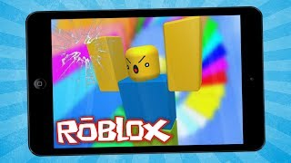 ESCAPE FROM the IPAD! (Roblox Obby)